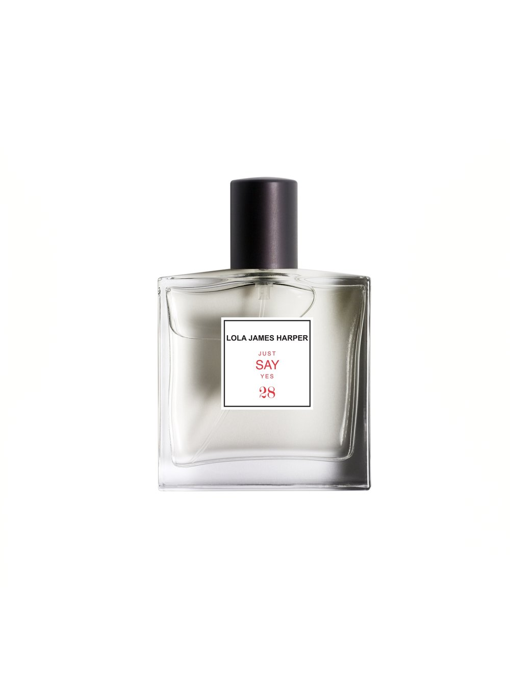 "28 - - Just say yes is about optimism / Rose""This is a sweet fragrance representing sensibility and fragility. Just say yes because the romantic and idealistic part of us is always present."""