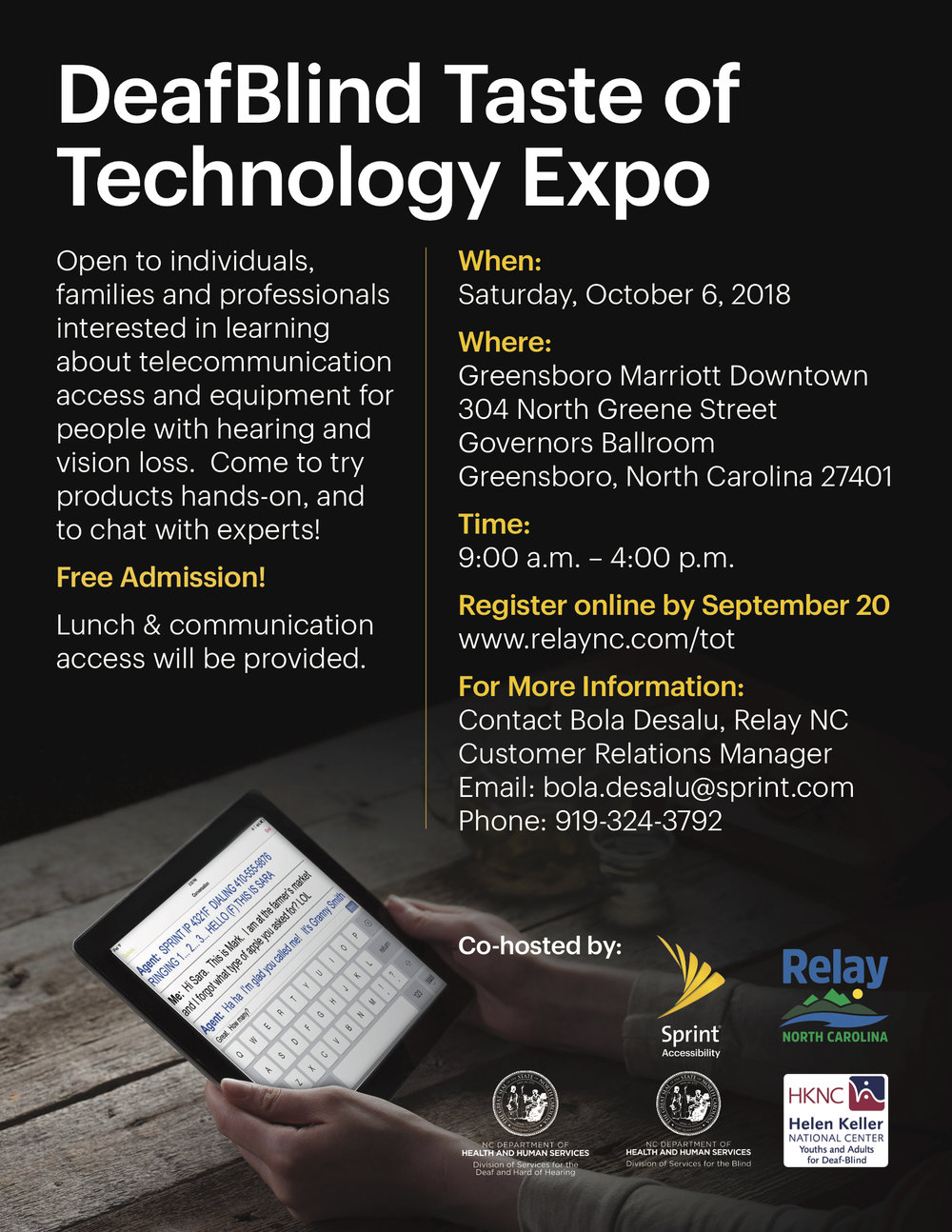 NC DeafBlind Taste of Technology Expo flyer.jpg