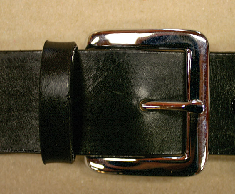 Nickel Square Buckle