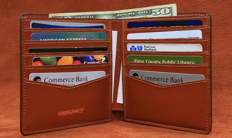 CW - Ten Slot Bifold Wallet