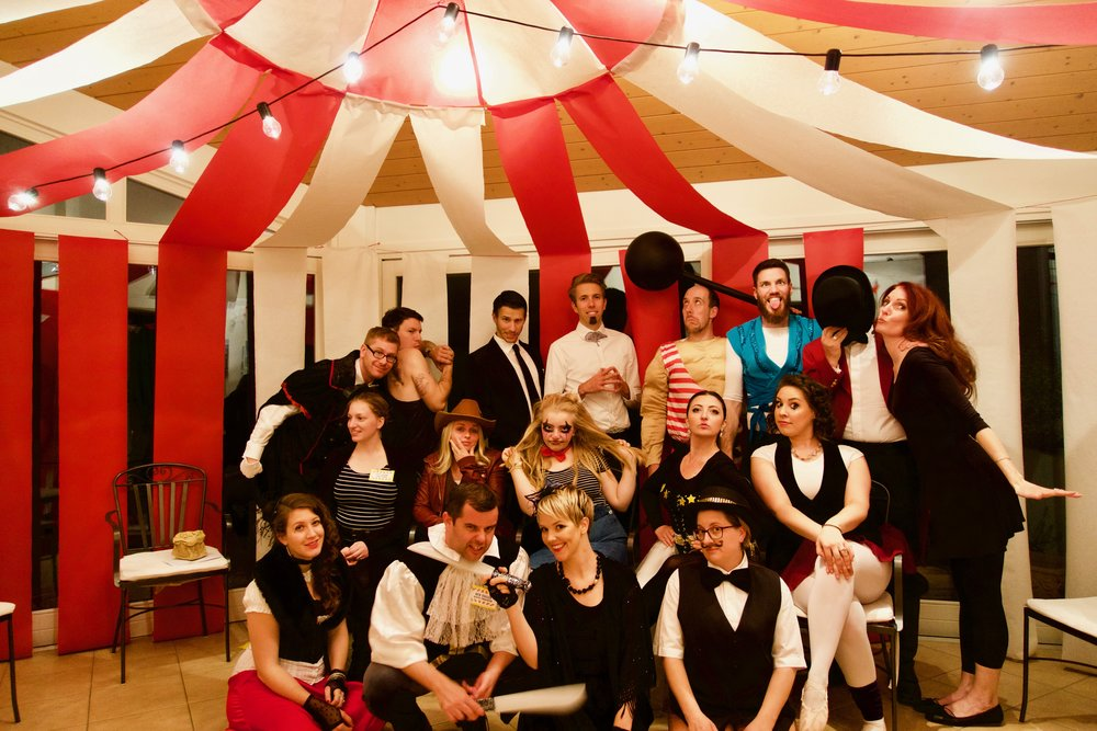 Circus Murder Mystery Party Halloween