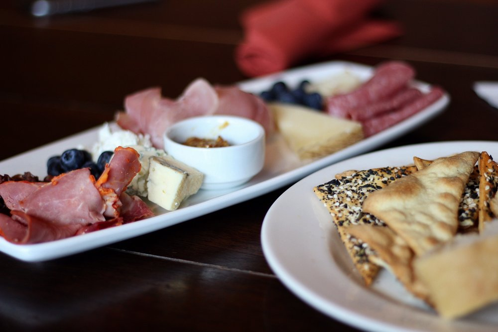 Meat and Cheese plate at Skamania Lodge, Copyright Nicole Burron