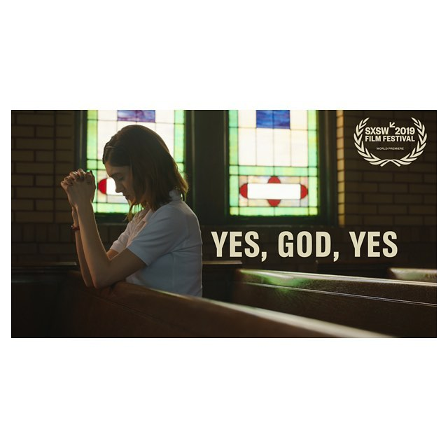 So excited to go to Austin this March to World Premiere @yesgodyesfilm in the Narrative Feature Competition at @sxsw!!! 🎉🎢🙏🏼 #yesgodyes
