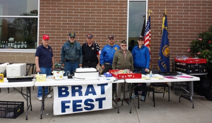 Brat Fest Crew, May 7, 2016, at Metro Market