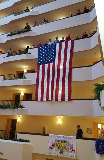2016 Convention - Madison Marriott Hotel - Spontaneous singing of the National Anthem
