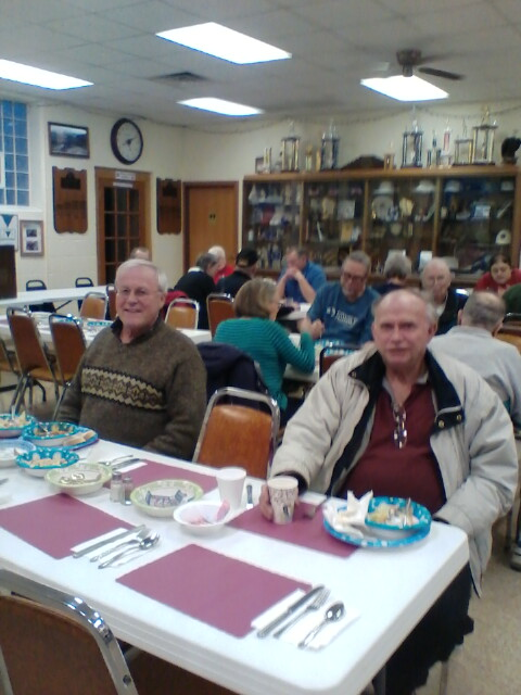 Cdr. Tom's Chili Dinner - 1/27/2018