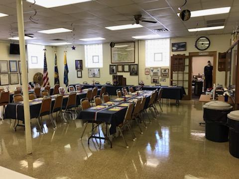 Another view of Post 501's Clubhouse prior to members arriving.