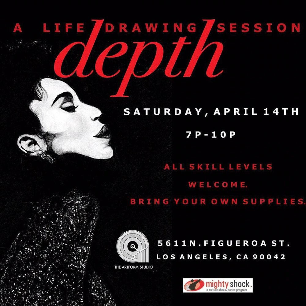 DEPTH - April edition in honor of the 1987 NYC underground Vogue Ballroom scene.