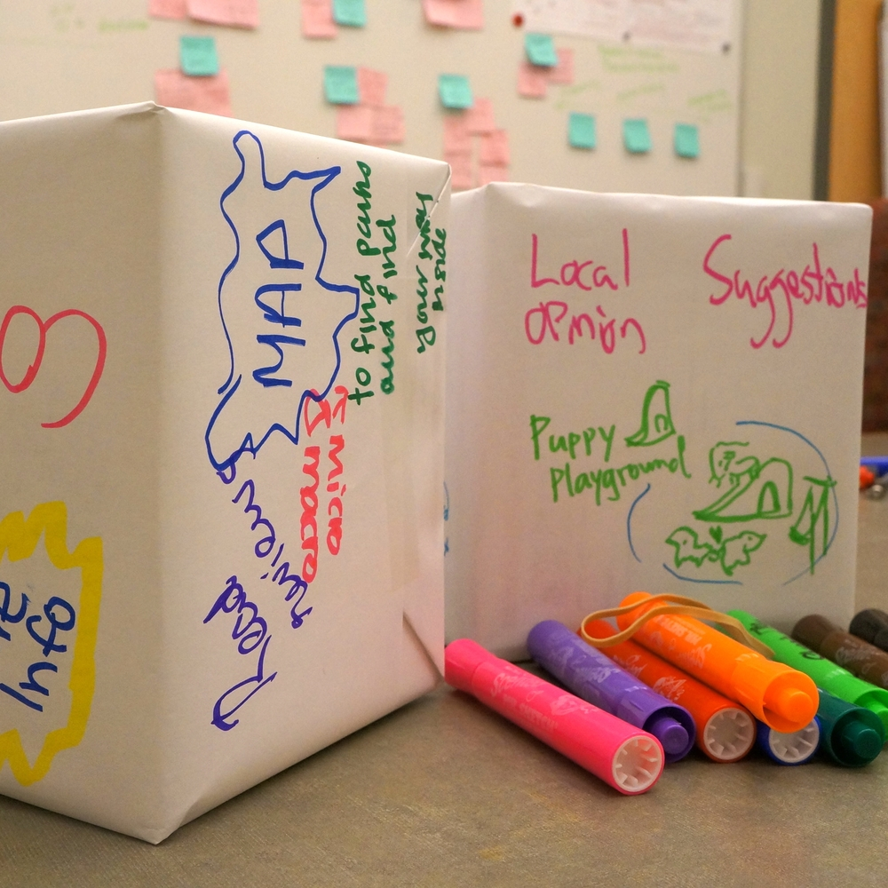 Design a box activity