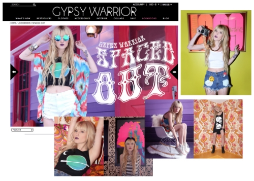 Gypsy Warrior - Spring 2015 - Spaced Out Lookbook gypsywarrior.com/lookbooks/spaced-out