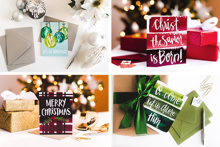 unique 2015 holiday cards by Sommer Letter Co.