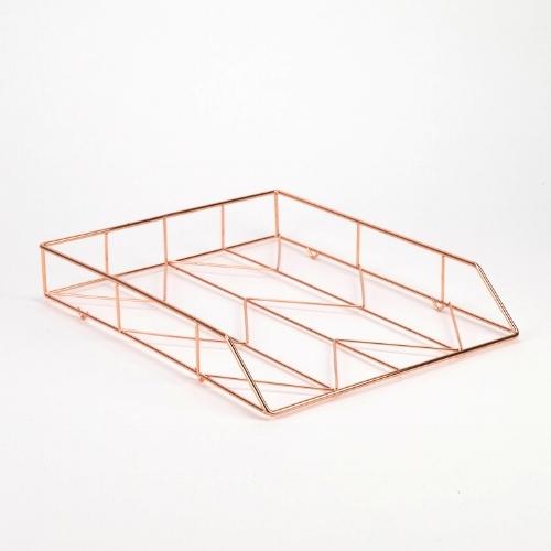Copper desk accessories