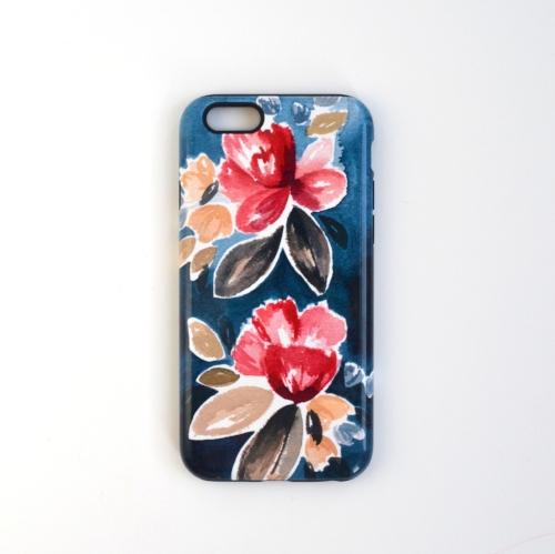 Unique watercolor iPhone case