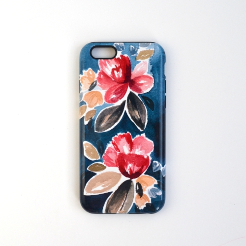 Unique watercolor iPhone case