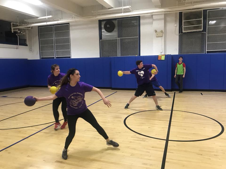 Wednesdays - Upper East Side, No-Sting squishy rubber Dodgeballs