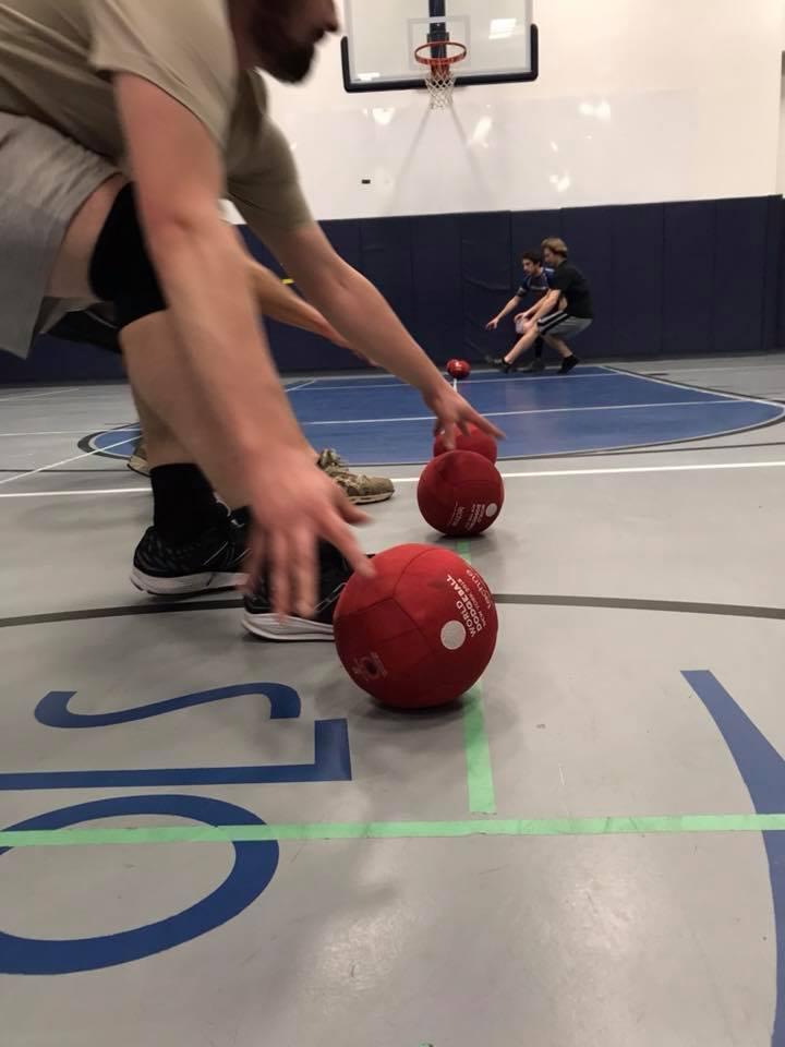 Thursday - Williamsburg, Soft Euro Cloth Dodgeballs