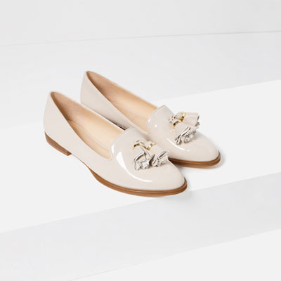Slippers with Tassels  available at Zara- $49.90