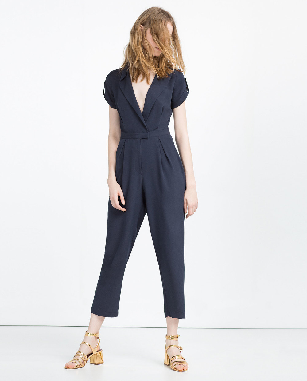 Long Jumpsuit available at Zara- $69.90