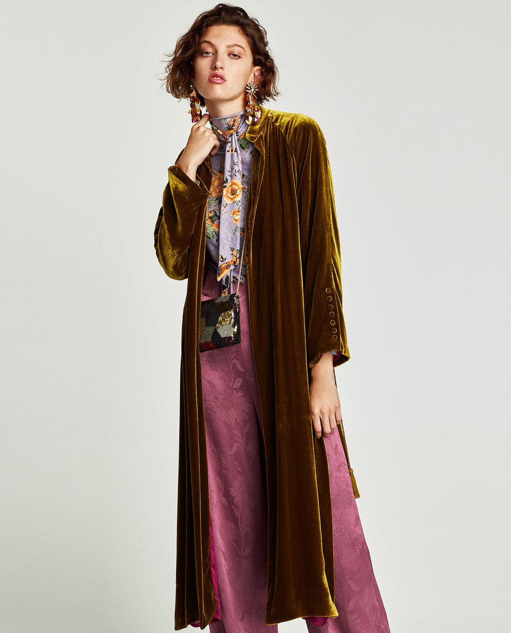 velvet kimono zara.jpg