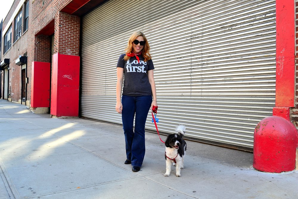 j.crew tee asos sunglasses dog1.JPG