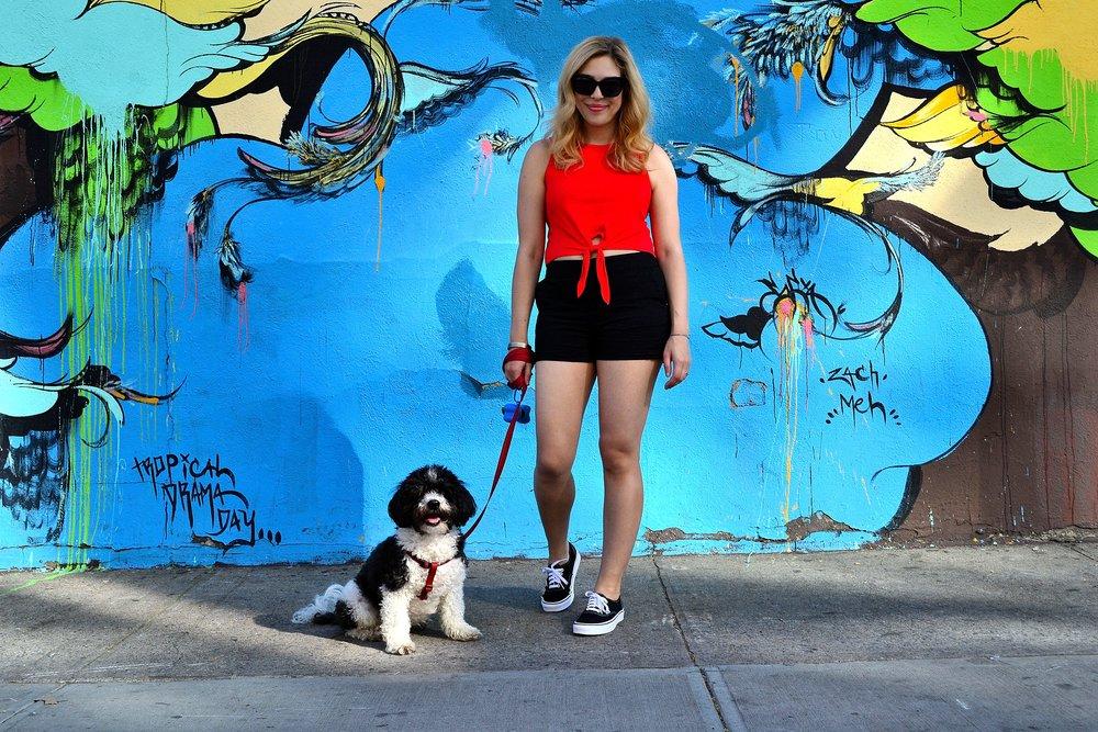 tank top- ASOS ,  shorts- Maison Jules ,  sneakers- Vans ,  sunglasses- ASOS