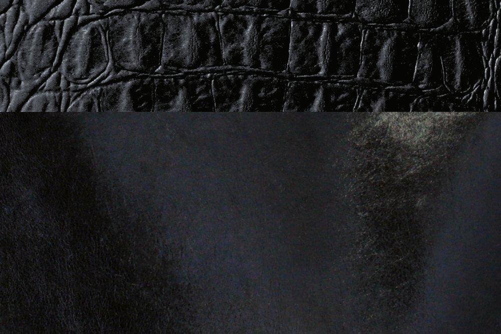 Onyx + Black Croc
