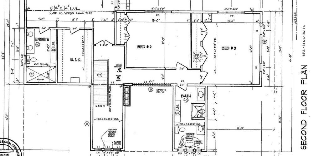 Toronto design build home - architect drawings - family abthroom,jpeg