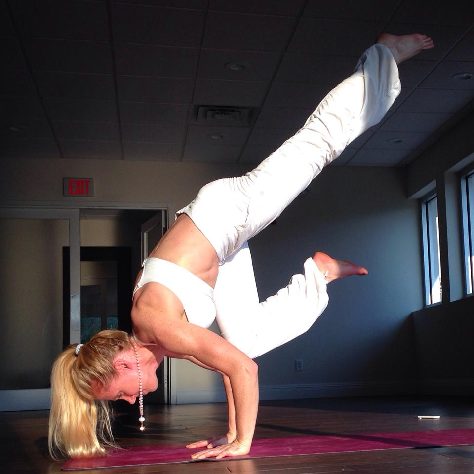 Happiness and yoga creates an endless cycle