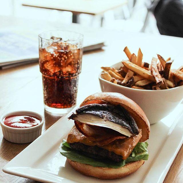 Want a gourmet classic burger and fries meal?  Ring up or turn up and you've got it!🍔🍟 • #stackhouseburgerbar #burgerbar #burgerhouse #burger #gourmet #downtownvancouver #vancitylife #vancityfood #gourmetburger #vancouver #yvr #vancouvereats #vancouverfoodie #yvrfoodie #gastropostvan #vancityeats #604eats #nomnom #foodcouver #downtownvancouver #instafoodie #vancitybuzz #vancityhype