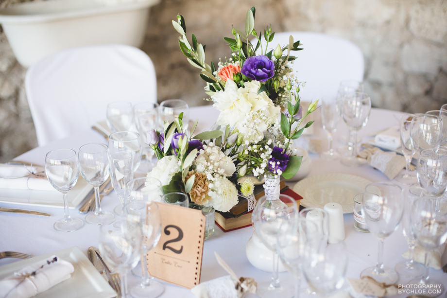 Destination Wedding Planning Tablescape