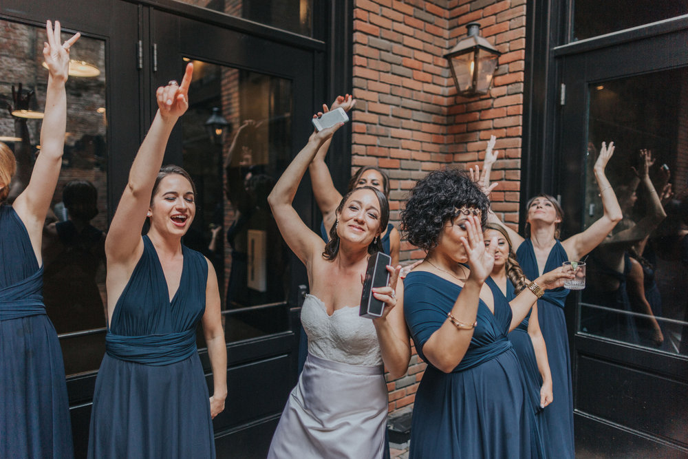 Bridal Party Ace Hotel New Orleans Ashley & Kahlil