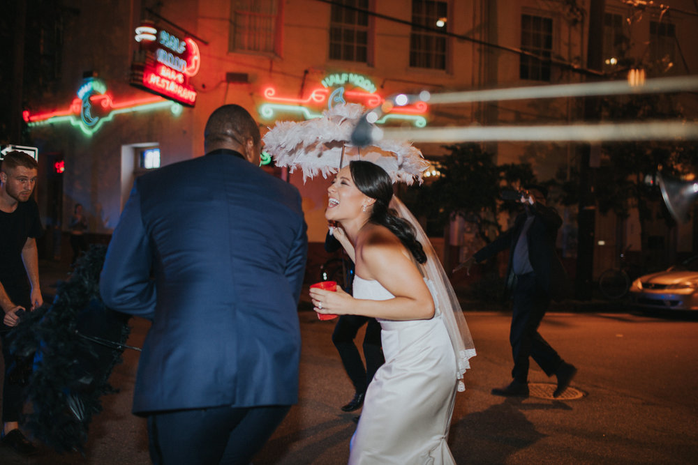 New Orleans Second Line Wedding