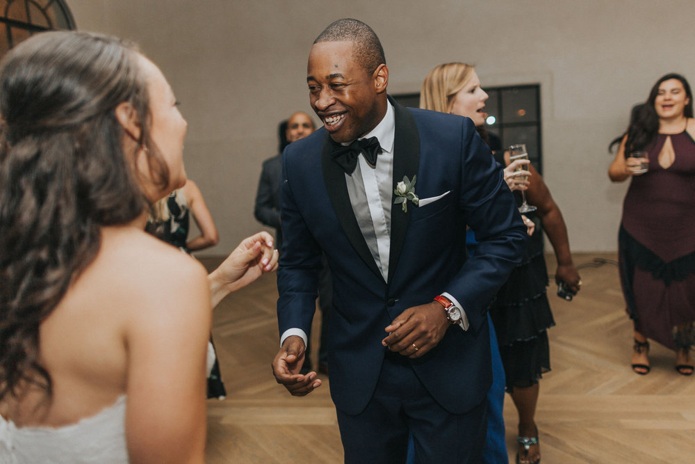 New Orleans WEdding Reception Ashley & Kahlil