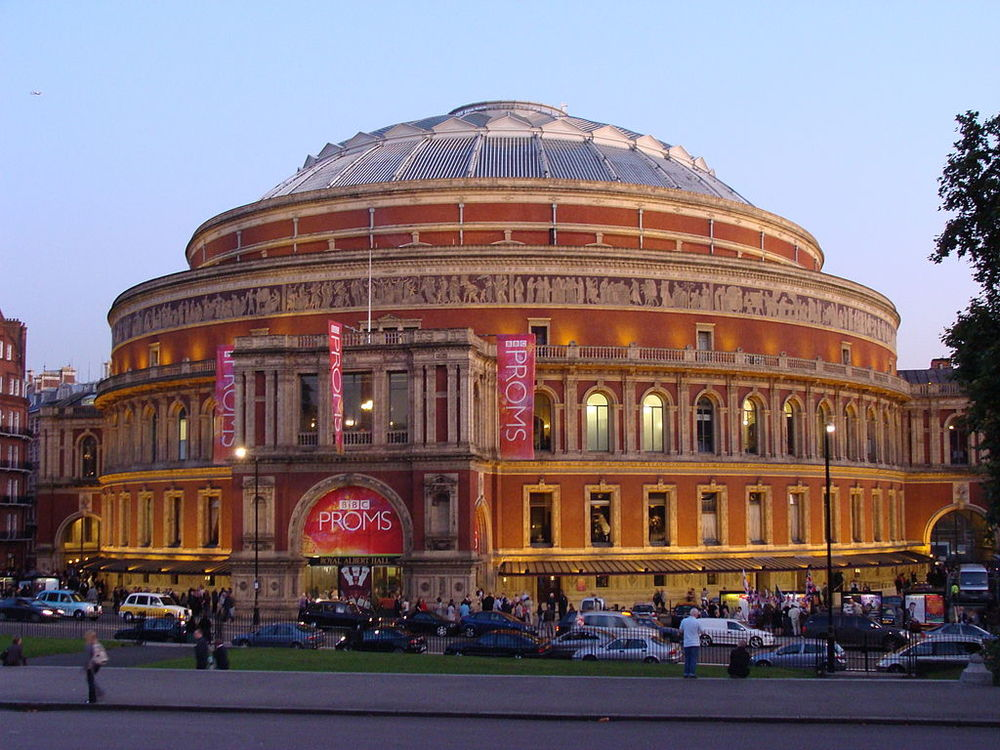 The Royal Albert Hall - current home of the Proms. Image Credit:  Drow Male  via  Wikimedia Commons   cc