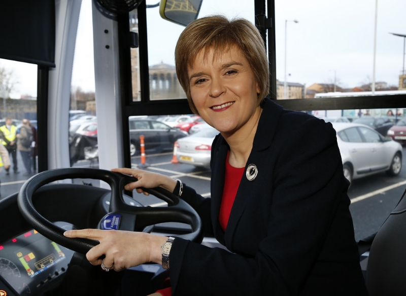NIcola Sturgeon has gotten by on sheer personal popularity and shaking her fist at Westminster, but How Long Can That LAST? Image Credit:  Ninian Reid  via  Flickr   cc