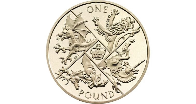 "The new and last ""Round Pound"". Image Credit: Royal Mint"