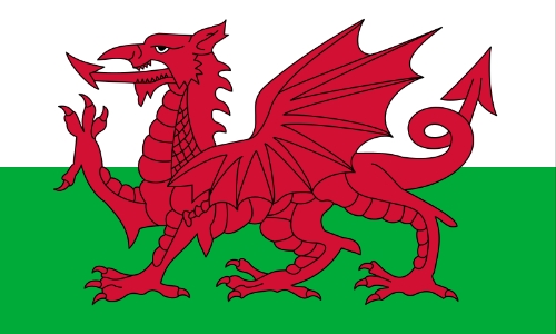 The Red Dragon of Wales