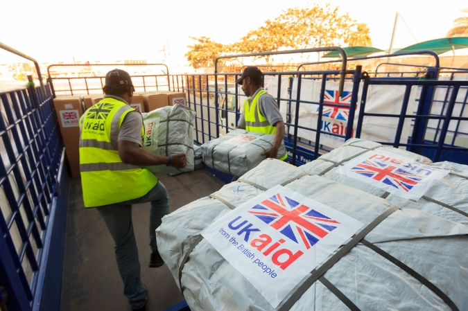 UK Aid being delivered in Dubai.  Image Credit:  UK Department for International Development  via  Flickr   cc