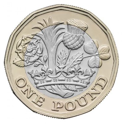 The new 12-sided pound coin. Image Credit: The Herald