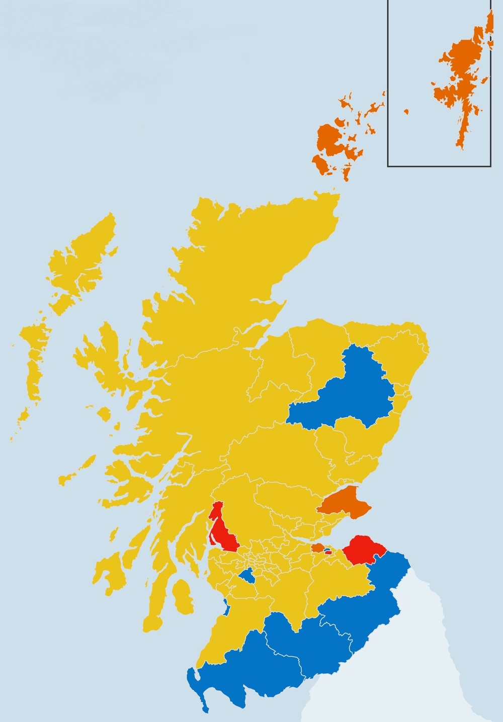 The new constituency map is vastly more colorful than most projections had shown going into election day on May 5th. Image Source: BBC