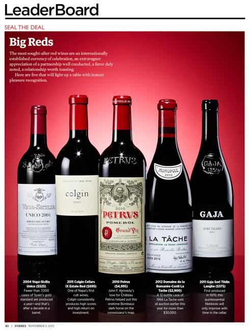 jarren vink forbes wine petrus gaja