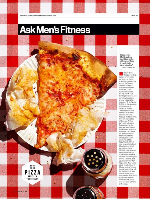 jarren vink men's fitness pizza slice food
