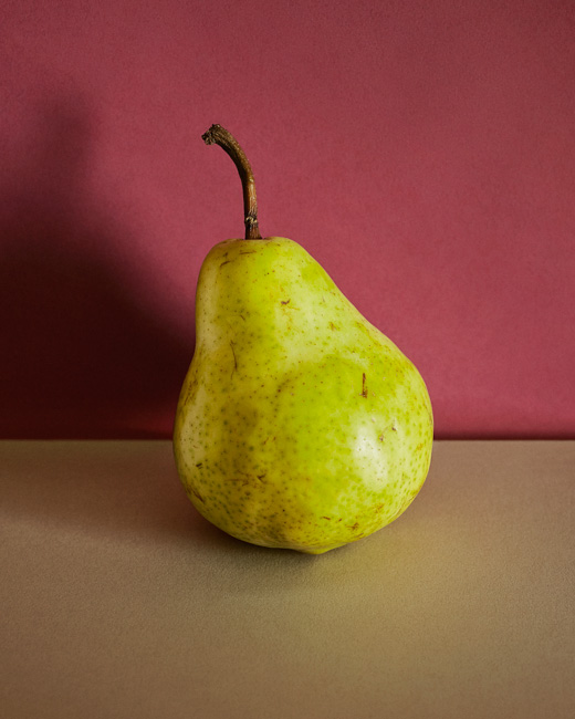 jarren vink pear fruit still life