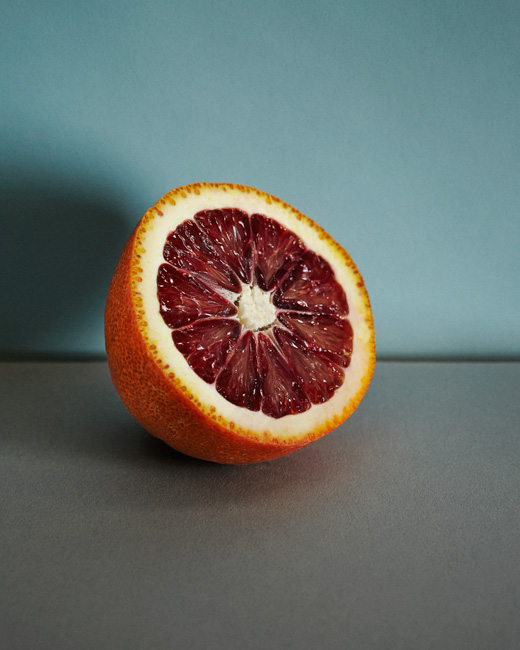 jarren vink blood orange fruit still life