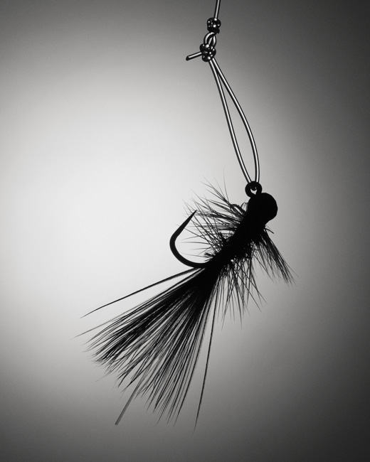 jarren vink fly fishing flies field and stream black and white