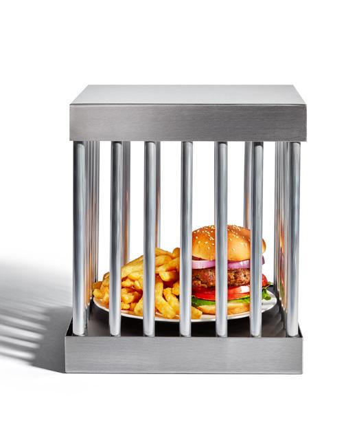 jarren vink men's fitness burger cage