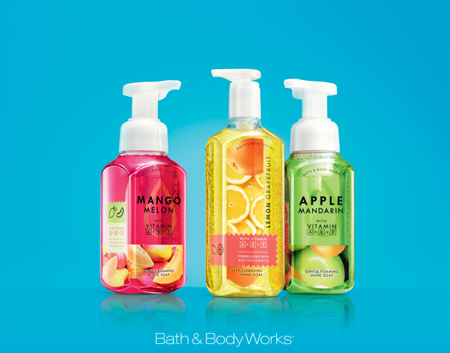 jarren vink bath & body works fragrance hand soap