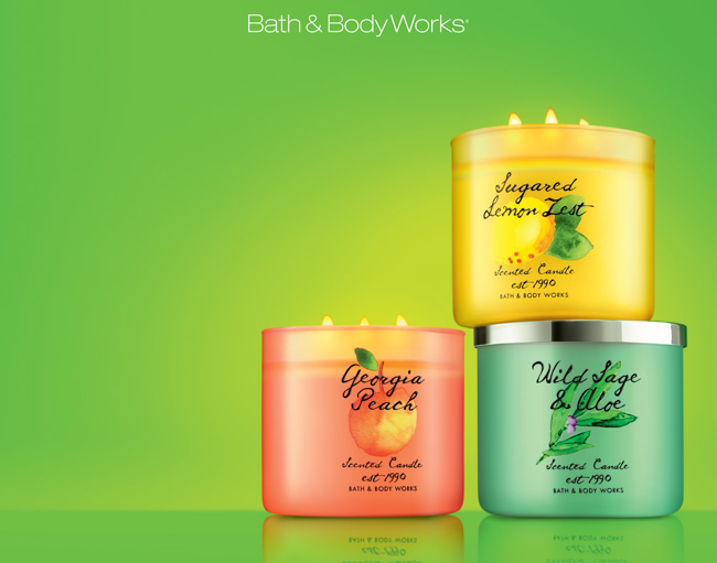 jarren vink bath & body works fragrance scented candle