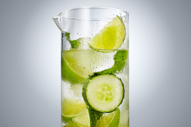 jarren vink aarp infused water aguas y frutas cucumber lime
