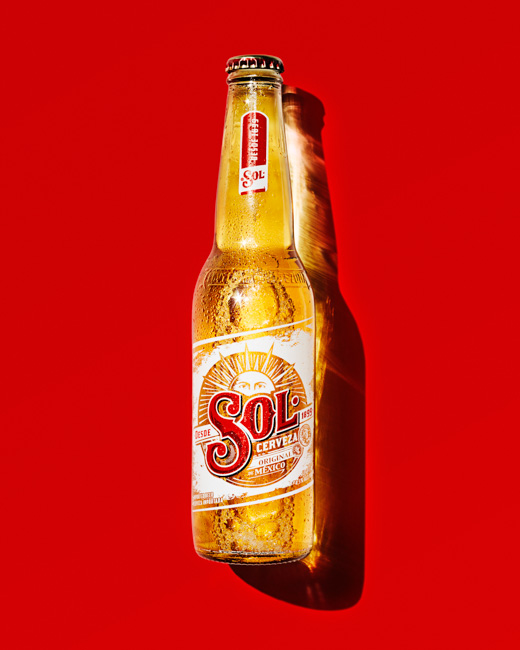 jarren vink sol cerveza beer bottle liquid still life